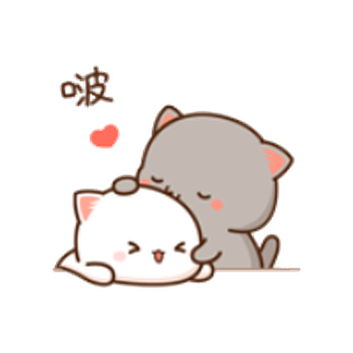 蜜桃猫11 - Sticker 11