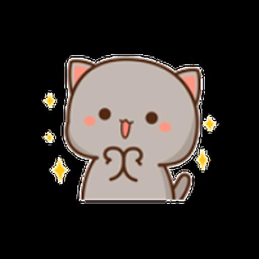 蜜桃猫11 - Sticker 5