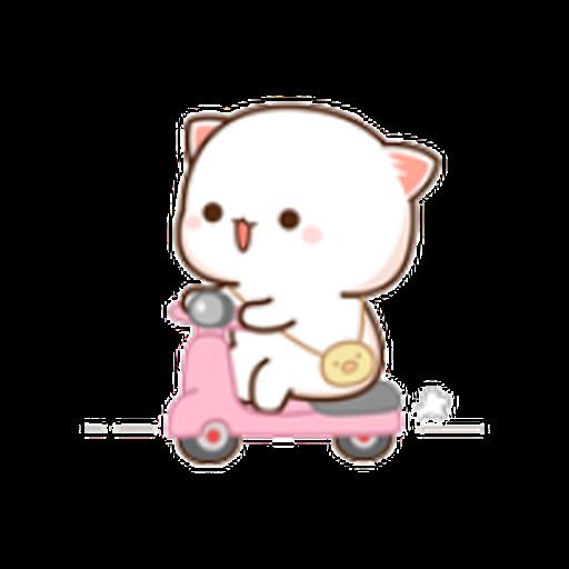 蜜桃猫11 - Sticker 12