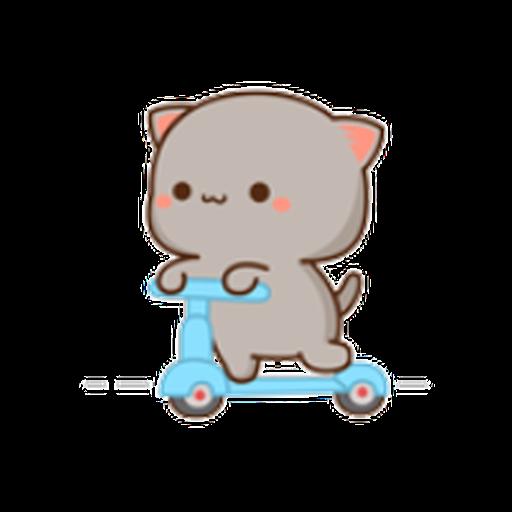 蜜桃猫11 - Sticker 13