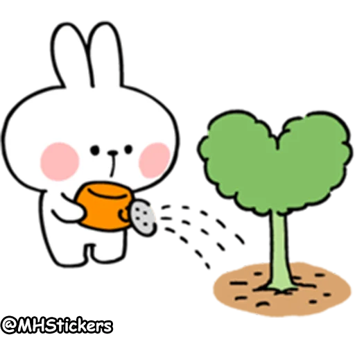 Spoiled rabbit 2 - Sticker 20