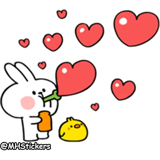 Spoiled rabbit 2 - Sticker 10