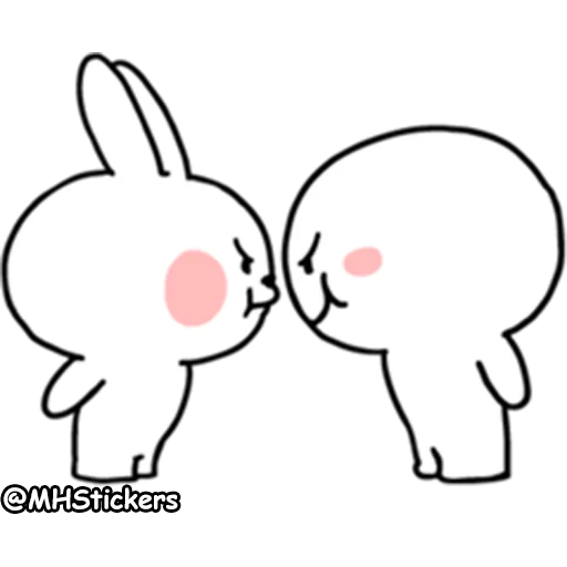 Spoiled rabbit 2 - Sticker 5