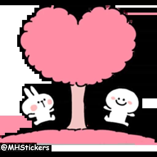Spoiled rabbit 2 - Sticker 8