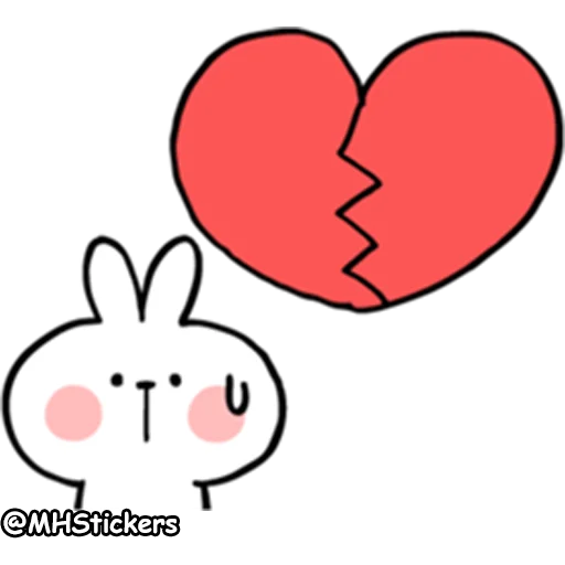 Spoiled rabbit 2 - Sticker 9