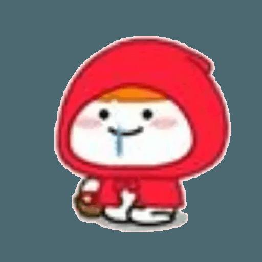 Lil bean cosplay - Sticker 12