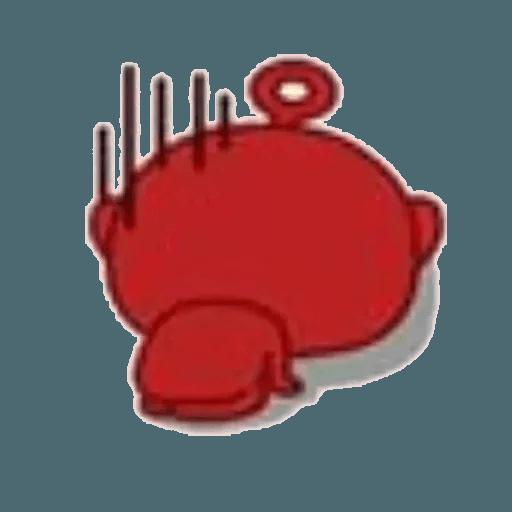Lil bean cosplay - Sticker 8