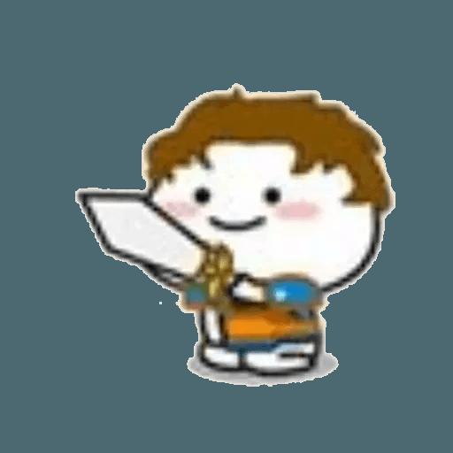 Lil bean cosplay - Sticker 13