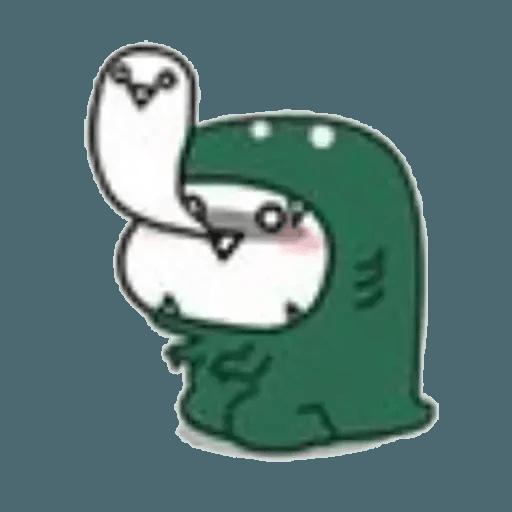 Lil bean cosplay - Sticker 6