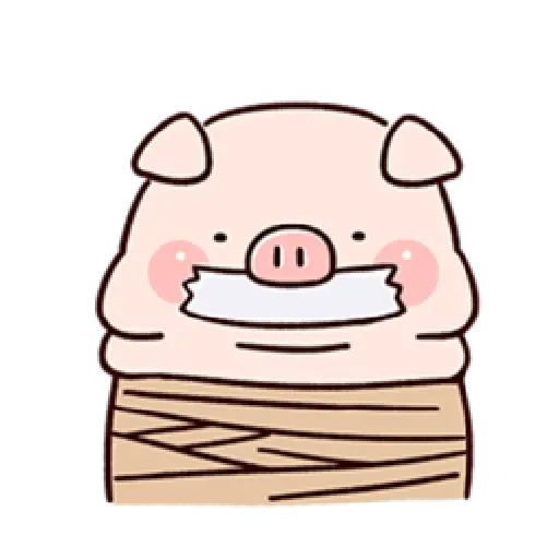 Piggy - Sticker 21