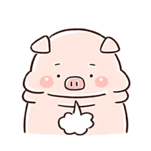 Piggy - Sticker 24