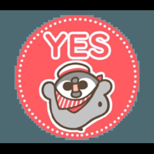 PP mini 小小企鵝 -服務生 (1) - Sticker 15