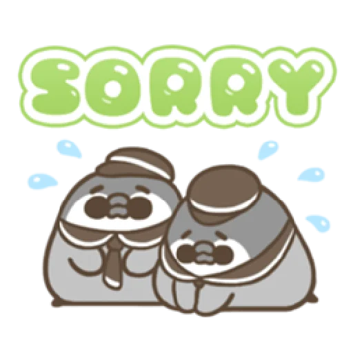 PP mini 小小企鵝 -服務生 (1) - Sticker 6