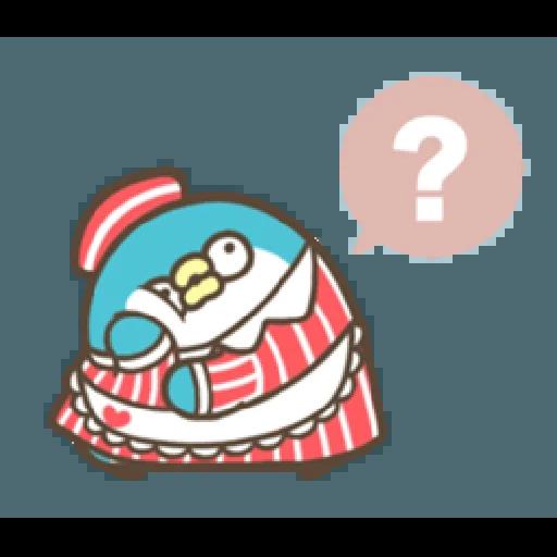 PP mini 小小企鵝 -服務生 (1) - Sticker 9