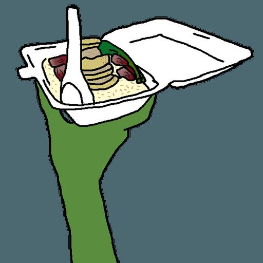 叉雞飯呀dllm - Sticker 2