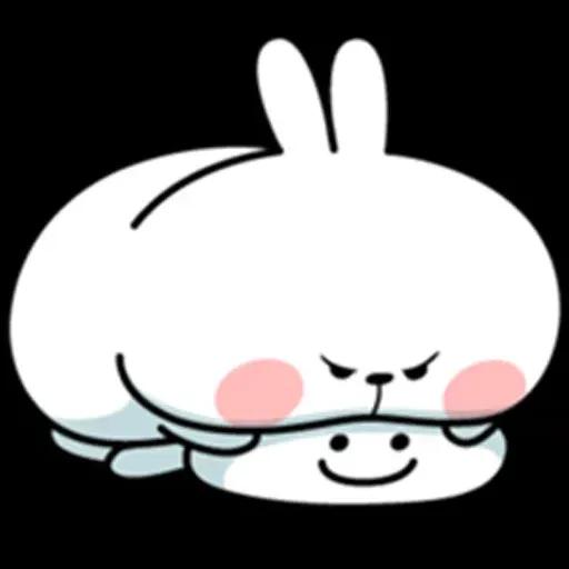@spoiled rabbits - Sticker 27