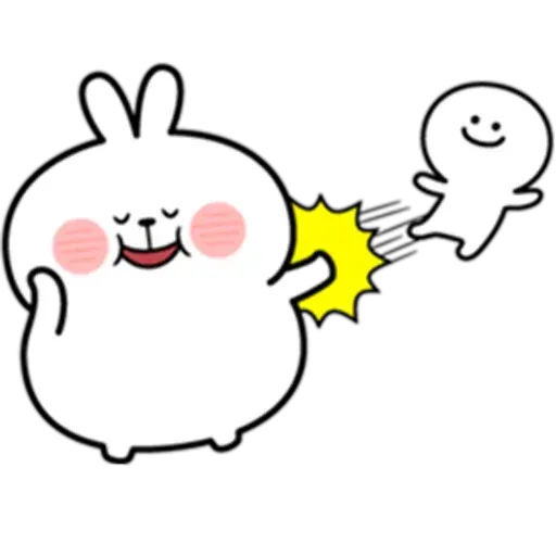 @spoiled rabbits - Sticker 22