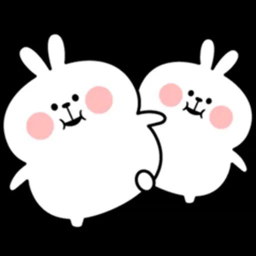 @spoiled rabbits - Sticker 16