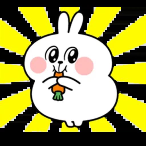 @spoiled rabbits - Sticker 17