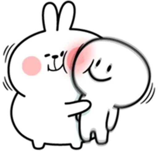 @spoiled rabbits - Sticker 30