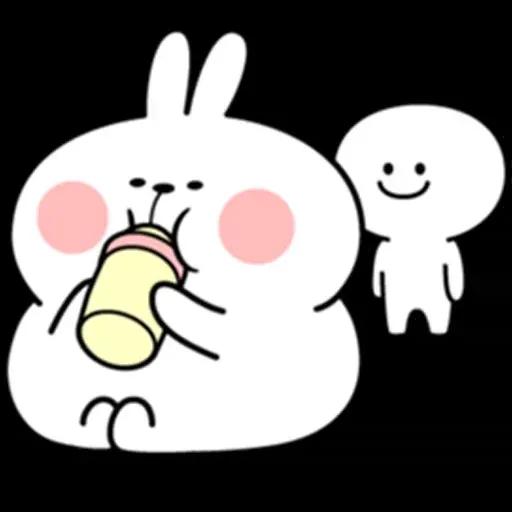 @spoiled rabbits - Sticker 19
