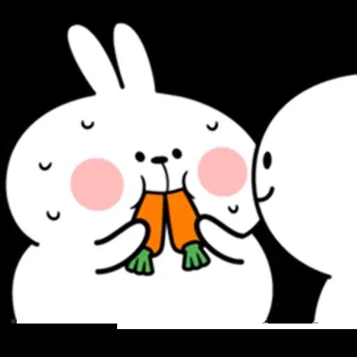 @spoiled rabbits - Sticker 24