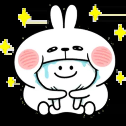 @spoiled rabbits - Sticker 20