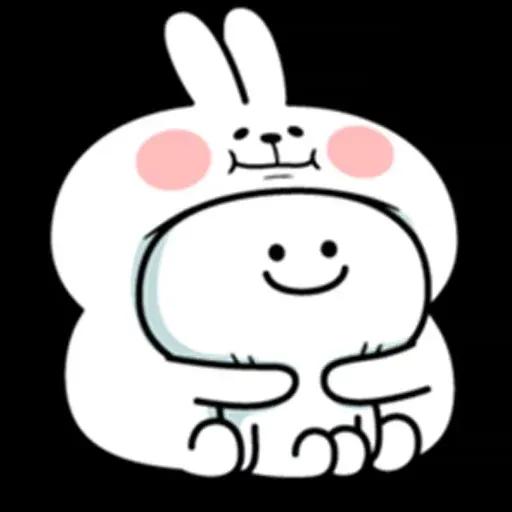 @spoiled rabbits - Sticker 26