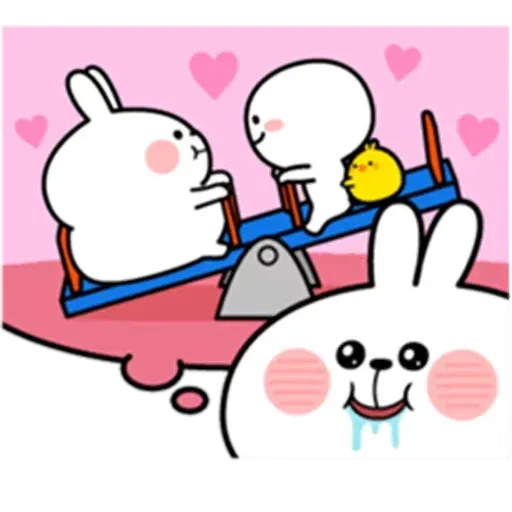 @spoiled rabbits - Sticker 8