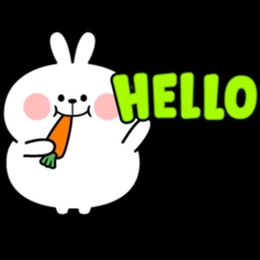 @spoiled rabbits - Sticker 6