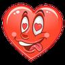 Big Boy Heart @ykinanah - Tray Sticker