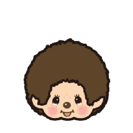 Monchhichi - Sticker 1