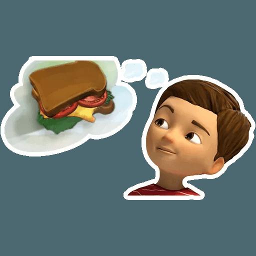 Caleb y Sofia - Sticker 17