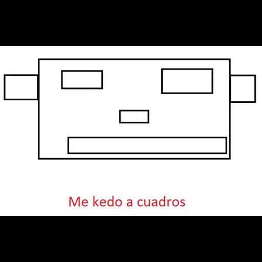 Memes Español - Tray Sticker