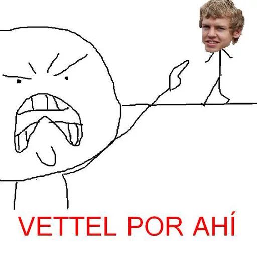 Memes Español - Sticker 3