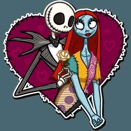 Skeleton - Tray Sticker