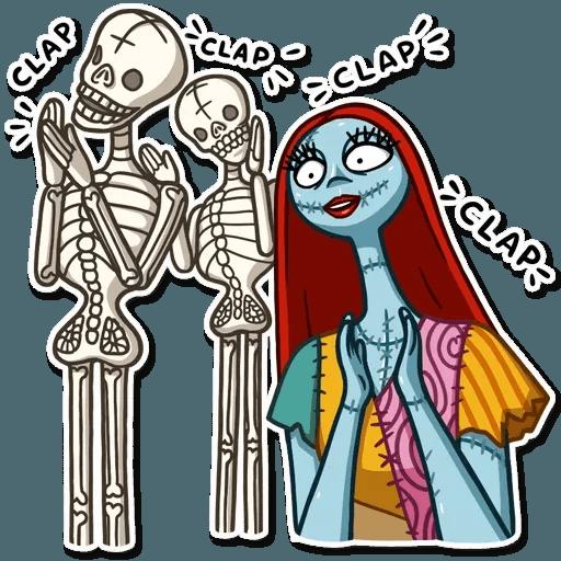 Skeleton - Sticker 10