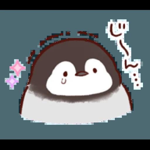 soft and cute penguin 01 - Sticker 15