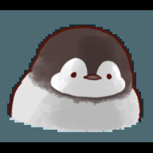 soft and cute penguin 01 - Sticker 24
