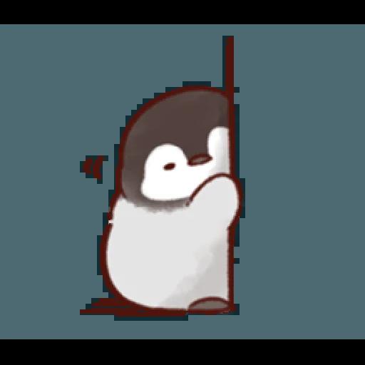 soft and cute penguin 01 - Sticker 22