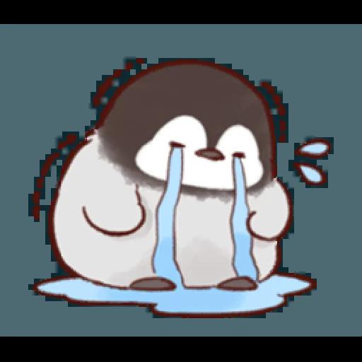 soft and cute penguin 01 - Sticker 23