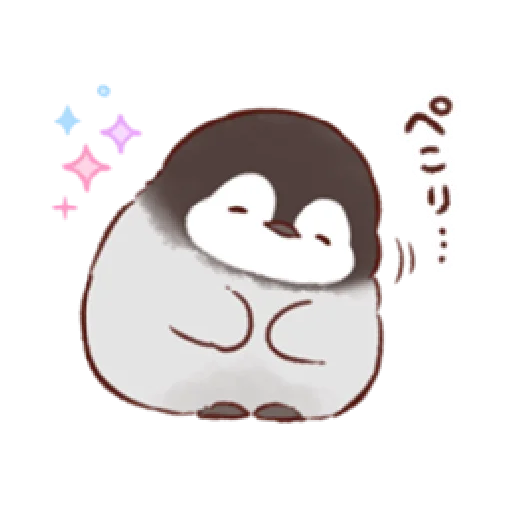 soft and cute penguin 01 - Sticker 18