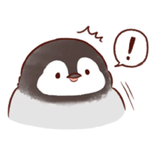 soft and cute penguin 01 - Sticker 25