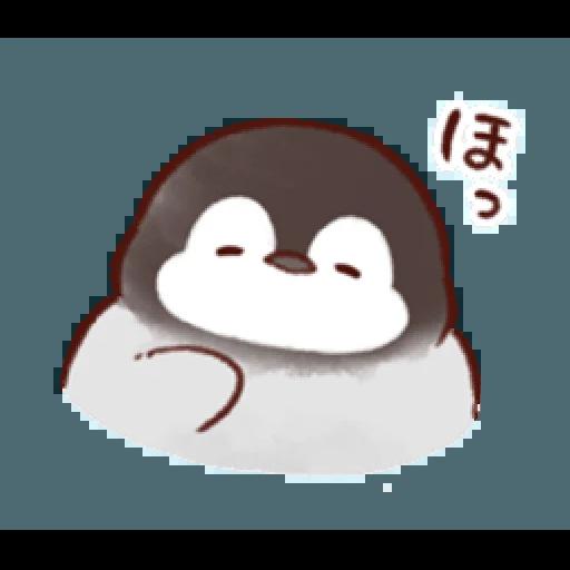 soft and cute penguin 01 - Sticker 11