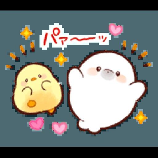 soft and cute penguin 01 - Sticker 8