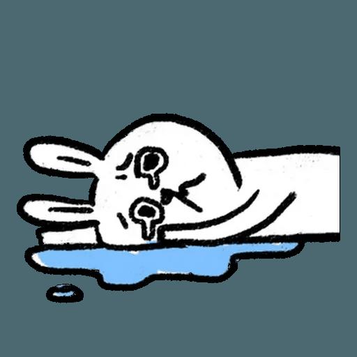 BH-懶散兔與啾先生01 - Sticker 23