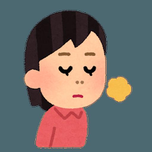 いらすとや(女性) - Sticker 18