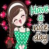 Greetings - Tray Sticker