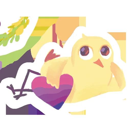 лгбт совы - Sticker 7