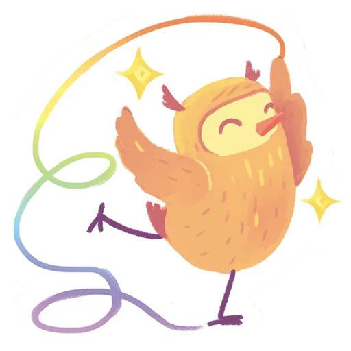 лгбт совы - Sticker 3